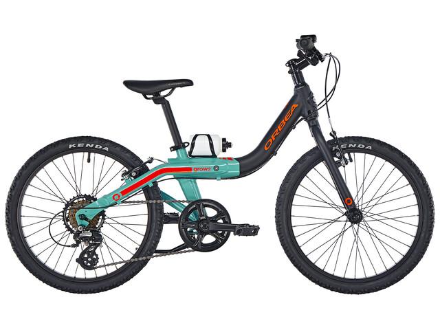 "ORBEA Grow 2 7V - Vélo enfant - 20"" noir/turquoise"